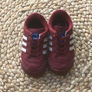 Adidas Samoa - Burgundy - Size 6